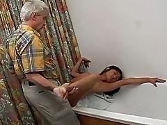 Tiny Titty Asian Fucks An Old Fart Hardcore