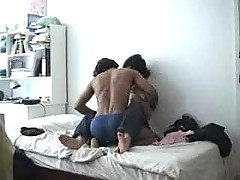 Home made - Indian guy fucks Korean girl