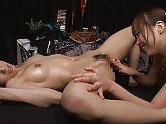 Lesbian Massage MIKI & ANRI (Censored)