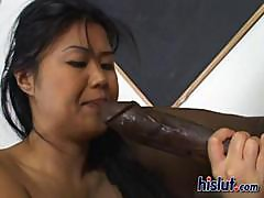 Asia is hot to trot and wants a monster dick