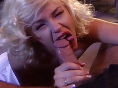 Marilyn Monroe sucks cock amongst other sluts