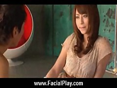 Japanese Babes Covered in Hot Facial Cum 19