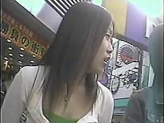 Japanese Upskirt voyeur hidden cam footage