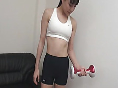 Pussy Vibrations Finishes Miho Wakabayashi Workout
