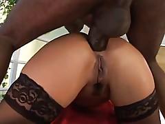 Big Tits Asian & Big Black Cock