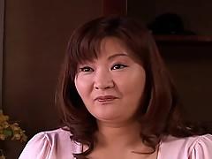 Chubby Japan BBW Masturbates