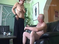 German mature fucking and sucking
