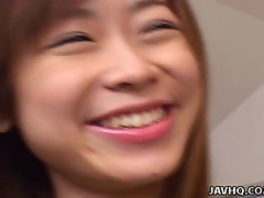 Cute Japanese college girl fucked at home
