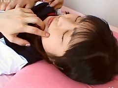 Blowjob and sex with Japanese bitch