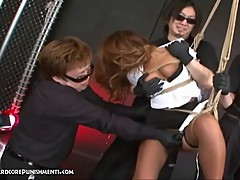 Bizarre Japanese Asian Fetish and Bondage Sex
