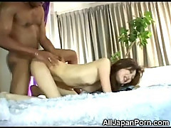 Black Dicks in Asian Teen!