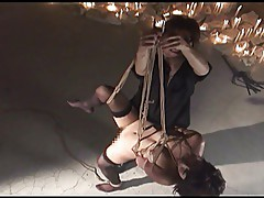 Flogging, Slapping & Whipping a Japanese M
