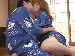 Japanese mom was Licked