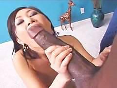 Yumi gets large black cock by Mandingo