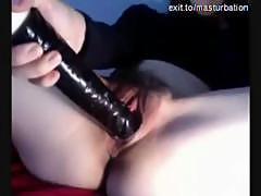 Korean Milf Mija toys her pussy