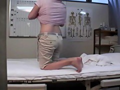 Japanese Women get a massage and a fuck uncensored
