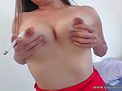 Cute Asian is a cock sucking machine!