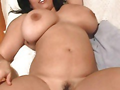 Curvy British Asian Chub With Huge Melons