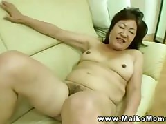 This asian milf starts off slowly but will finish strong on his dick