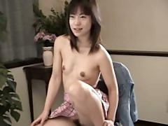 Petite 18yo girl from Japan suck cock
