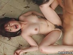 Japanese school girls tied up and fucked
