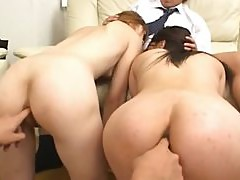 Sleeping asian beauty anal banged