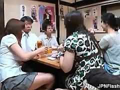 Smoking hot Asian bitch getting horny