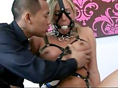 AMWF Samantha Saint interracial Asian slave