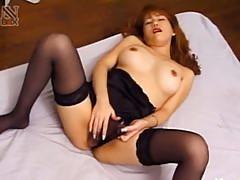 Japanese tatooed whore ass fucked