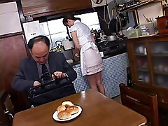 Submisive japanese housewife
