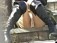 Cameltoe upskirts panties