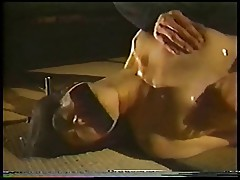 A Japanese woman's intense sex