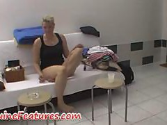 Real czech chubby chick in backstage clip