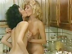 Ginger Lynn & Kristara Barrington Cooking