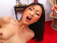 Stunning Asian cutie pounded