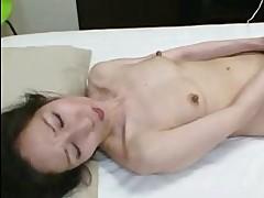 Nobue Toyoshima Nippon Granny Wants Young Cock