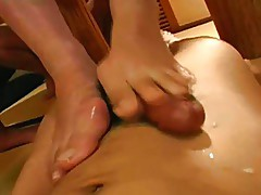 Geisha gushers: asian cumshots for fingers & Toes 1