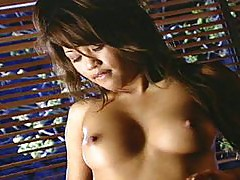 Asian vagina fucking brunette slut