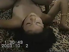 lusty amateur MMF threesome 3P (Japan)