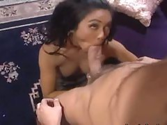 wild blackhair asian extremely banged