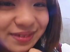 Rino Sayaka pussy stimulation and hot teen fuck!