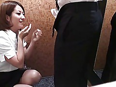 Japanese Dressing Room Flash(censored) #5