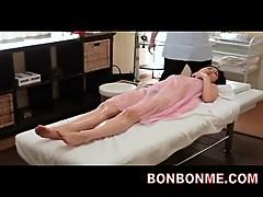 Mosaic; jap office lady erotic massage