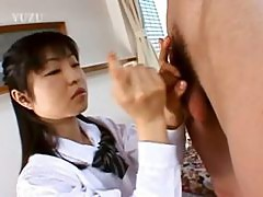 18yo girlfriend from china gives handjob
