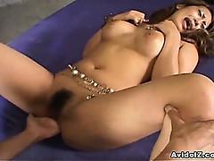 Big tit babe Yuuna Enomoto nailed by cock