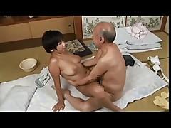 Old Man & Young Japanese Girl - Meguru Kosaka