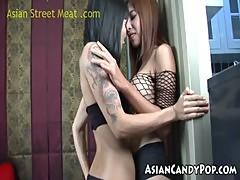 Thai Threesome Riza And Backara