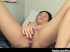 Petite Asian with Huge Tits Orgasms Hard