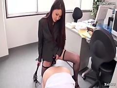 Asian femdom slave femdom strapon