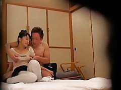 Censored Cute Japanese masseur getting fucked